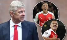 Arsenal có nguy cơ mất trắng 10 cầu thủ