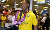 Ronaldinho bất ngờ ghé thăm Việt Nam