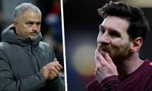 Điểm tin chuyển nhượng 25/2: Mourinho 've vãn' đồng đội, Messi phát cáu