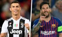 Messi tự đánh giá cạnh tranh lành mạnh với Ronaldo