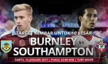 Burnley vs Southampton, 22h00 ngày 14/01: Khó bắt nạt chủ nhà