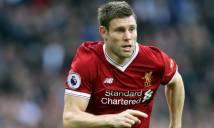 Phản lưới nhà, Milner vẫn được Liverpool ca tụng
