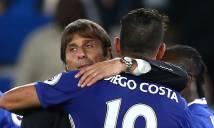 Conte đặt trọn niềm tin vào Costa trong trận đại chiến với Man City