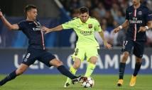Motta bị bố Messi mắng vì lỡ xoạc bóng với M10