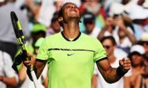 Vòng 4 Miami Open: Hạt giống số 1 bị loại, Nadal và Federer nhọc nhằn đi tiếp