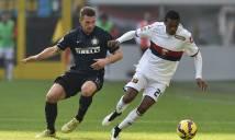 Nhận định Genoa vs Inter Milan 02h45, 18/02 (Vòng 25 - VĐQG Italia)