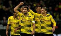 Hàng thủ Dortmund vững chắc nhất 5 giải hàng đầu châu Âu