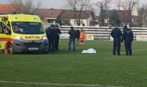 SỐC: Cầu thủ Croatia đột tử khi đang thi đấu