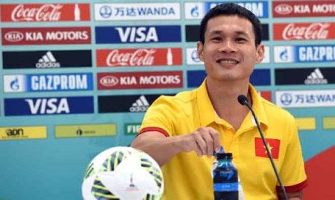 ĐT futsal Việt Nam sắp đối đầu ĐT futsal Trung Quốc