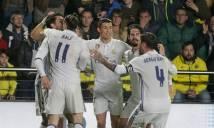 Real Madrid trở lại ngôi đầu sau màn lội ngươc dòng không tưởng