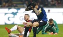 Milan cầm hòa Inter: Thất vọng