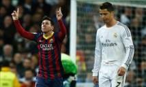 'Gà nhà' vẫn xếp Messi trên Ronaldo một bậc