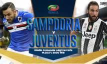 Sampdoria vs Juventus, 21h ngày 19/3: Không thể ngăn cản