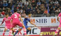 Kết quả Quảng Nam - Sài Gòn FC: Hà Minh Tuấn khai nòng, ĐKVĐ vẫn bị cầm hòa trên sân nhà