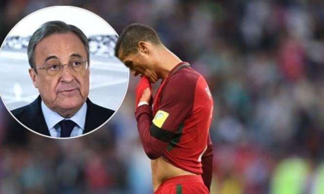 Sếp lớn Real thừa nhận Ronaldo đang rất giận dữ