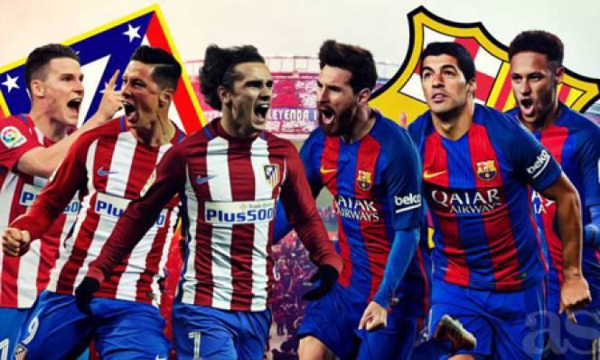 6 điểm nóng quyết định đại chiến Atletico - Barca