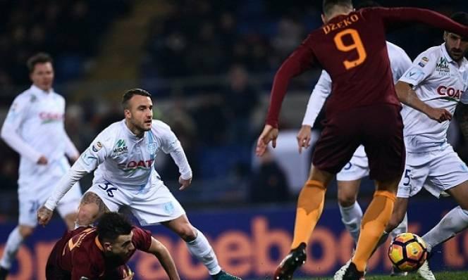 Vòng 18 Serie A: Fio chia điểm với Napoli, Roma ngược dòng ấn tượng
