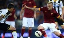Nhận định Udinese vs AS Roma 21h00, 17/02 (Vòng 25 - VĐQG Italia)