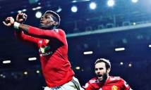 Pogba giải thích pha 'bắt chéo tay' khi ăn mừng bàn thắng cho M.U