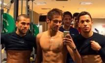 Khám phá bí mật trên cơ thể Neymar