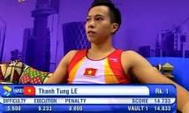 Lê Thanh Tùng giành huy chương vàng thế giới cho thể dục dụng cụ Việt Nam