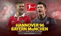 Nhận định Hannover vs Bayern Munich, 20h30 ngày 21/4 (Vòng 31 giải VĐQG Đức)