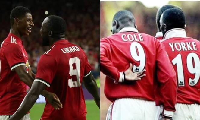Cả thế giới muốn Rashford - Lukaku thành cặp Cole - Yorke mới của Man United
