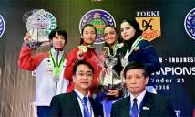 Karatedo Việt Nam đoạt 2 HCV ở giải Châu Á
