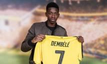 Dortmund dọa sẽ không buông tha cho PSG vì hàng Hot Dembele