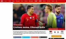 Bồ Đào Nha thua thảm: Báo chí thất vọng Ronaldo, lo bị loại sớm World Cup