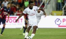 """Crotone 0–3 AC Milan: """"Vỡ vụn"""" vì thẻ đỏ"""