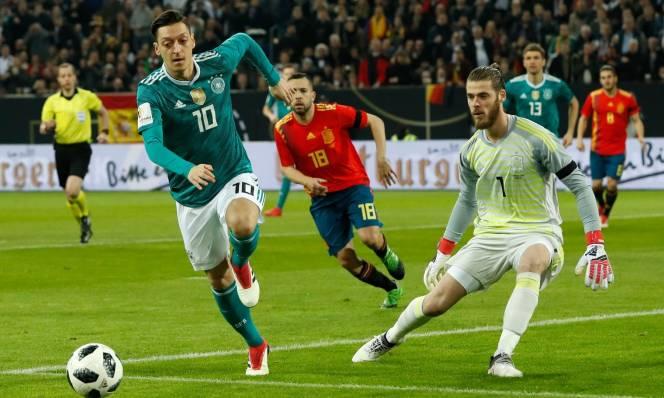 Brazil, Đức và Tây Ban Nha