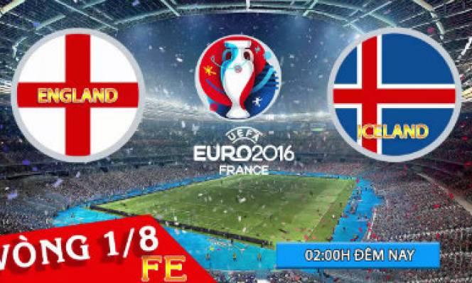 Anh vs Iceland, 02h00 ngày 28/6: Tâm lý cửa trên