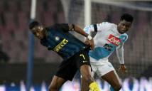 Thủng lưới sớm, Inter Milan thảm bại tại San Paolo