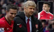Wenger: 'Mất Persie đau hơn mất Sanchez rất nhiều'