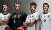 Giá trị 24 đội tuyển ở EURO 2016: Đức, Tây Ban Nha, Bỉ đứng top