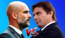 Guardiola - Conte, sự tương phản tuyệt vời
