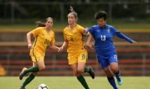 KẾT QUẢ Bán kết Asian Cup nữ: Nữ Thái Lan thua đau Australia trên chấm 11m