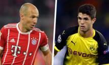 Pulisic là sự kế tục hoàn hảo cho Robben