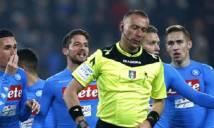 Sếp Napoli điên tiết với vị vua áo đen vì đã 'tặng' Juve 2 quả phạt đền