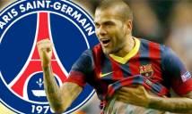 "PSG ""nẫng"" Daniel Alves trên tay Man City"