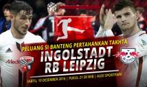 Ingolstadt vs RB Leipzig, 21h30 ngày 10/12: Khách bay cao, chủ xuống đáy