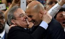Thành công rực rỡ với Real, Zidane chính thức được gia hạn hợp đồng