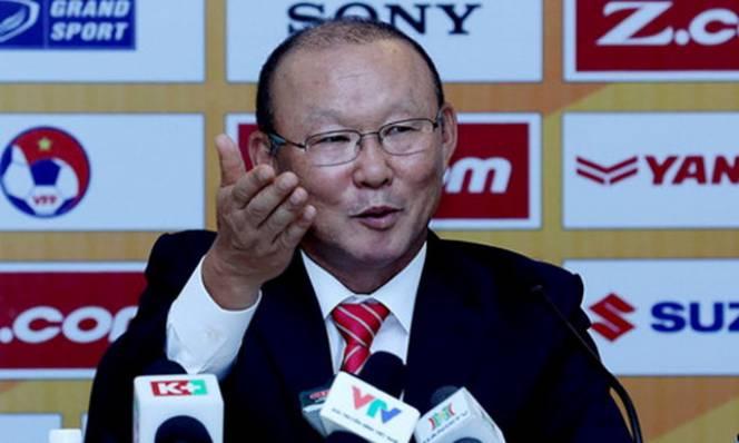 HLV Park Hang-seo gửi lời tri ân đến đồng bào miền Trung bị lũ lụt