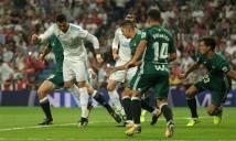 Real Madrid 0-1 Real Betis: Ronaldo trở lại và gây thất vọng
