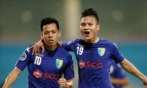 Đội trưởng ĐT Việt Nam tỏa sáng, Hà Nội FC nhọc nhằn vượt ải SLNA