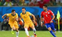 Chile vs Australia, 22h00 ngày 25/6: Hy vọng xa vời