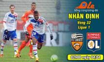 Lorient vs Lyon, 02h00 ngày 04/04: Lọt vào top 3