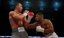 Quyền Anh đỉnh cao: Tượng đài Wladimir Klitschko bị sức trẻ Anthony Joshua hạ knock-out