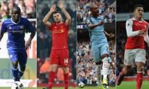 Top 4 Premier League chuẩn bị như thế nào trước Giáng Sinh?